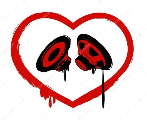 coração áudio